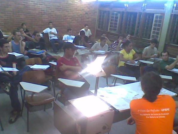 Participação dos Calouros 2009.1