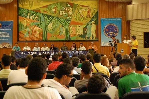 Público na Conferência de Abertura - Cerca de 400 participantes