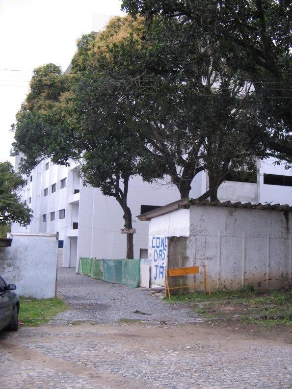 Entrada do Centro de Centro de Ciências Exatas e da Natureza (CCEN) da UFRPE