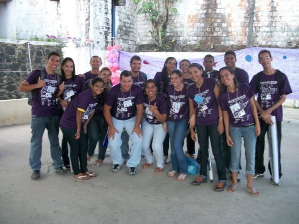PIBID-UFRPE e os estudantes da UFRPE que participarão da mostra de astronomia expondo trabalhos