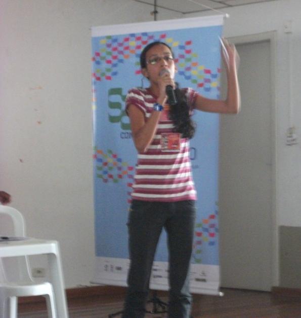 Lidiane Monteiro, Coordenadora-geral do DAFís, representa a entidade em GD sobre acesso e permanência no 52ºConUNE